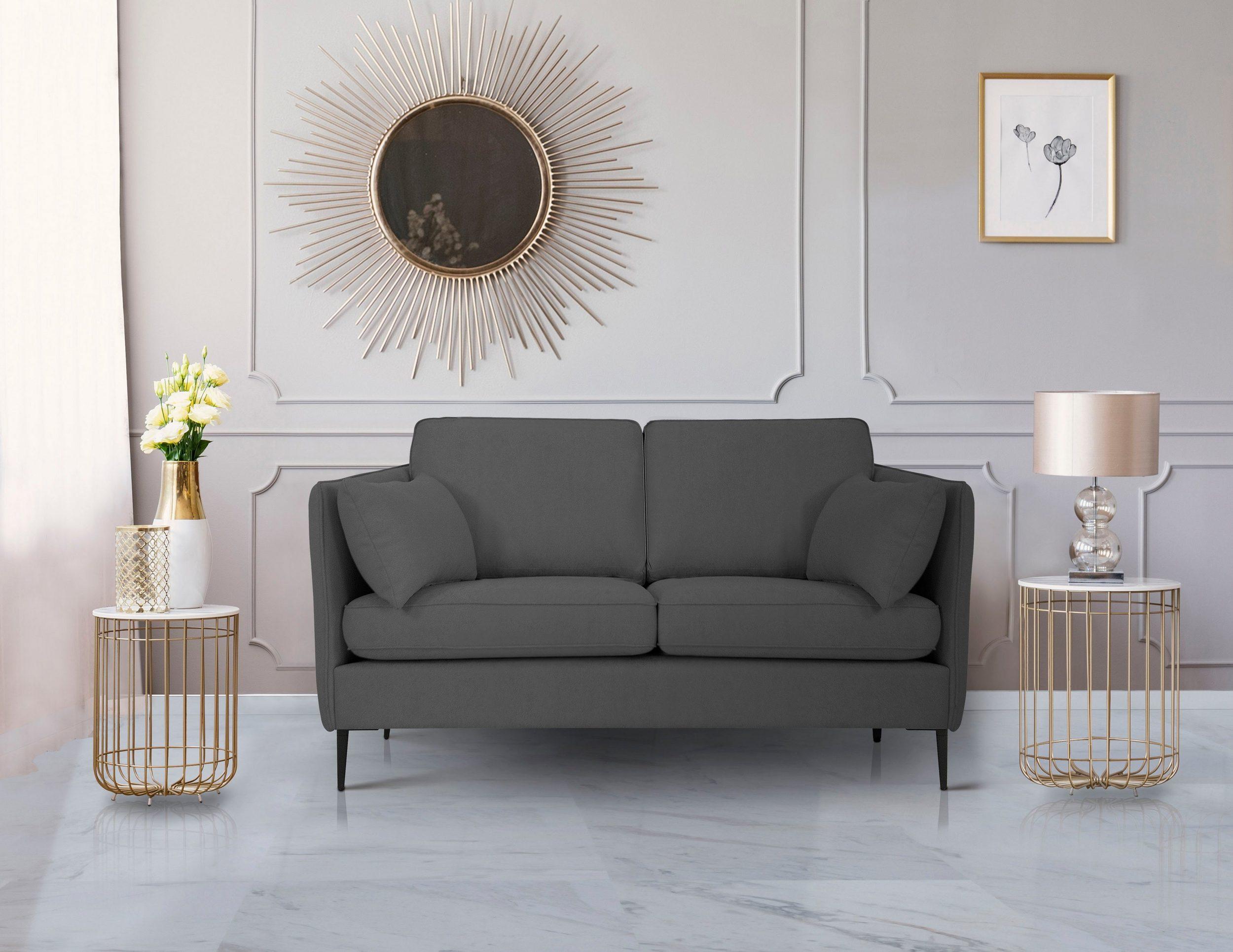 2-Sitzer Sofa Light in Struktur weich