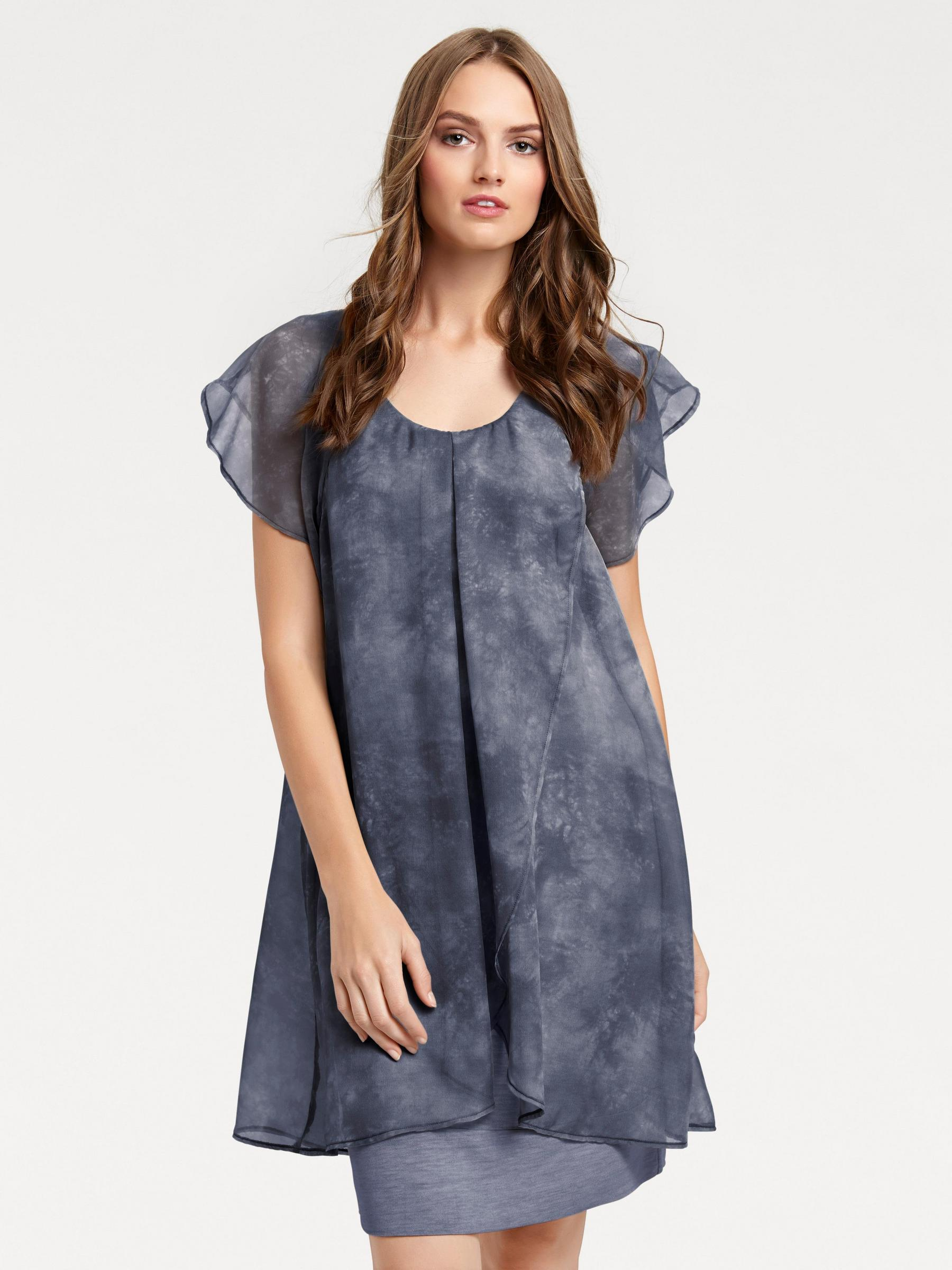 Kleid im Lagen-Look Gr. 42