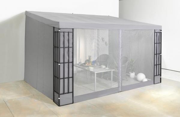 Seitenteile für Terrassendach 300x400