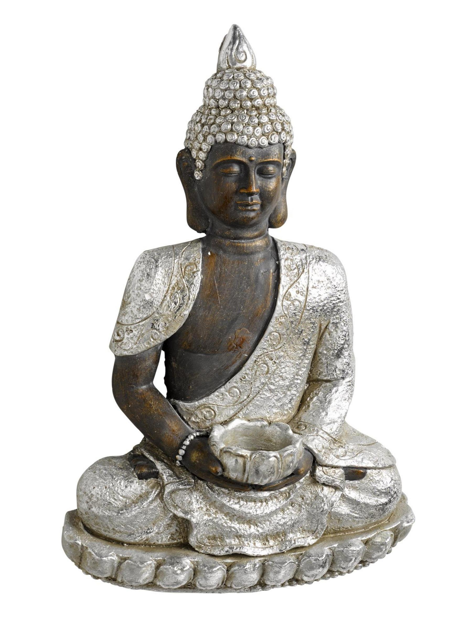 Wanddeko Buddha