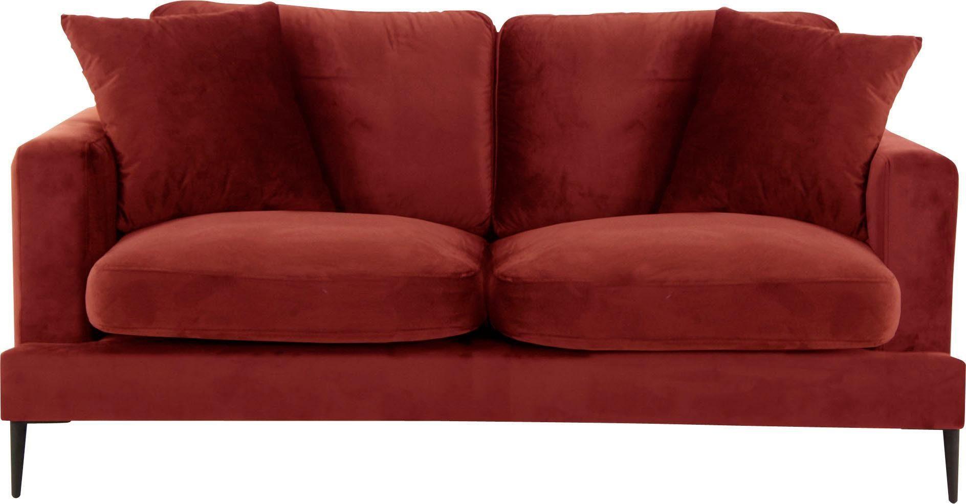 2-Sitzer Sofa Cozy in Samtoptik