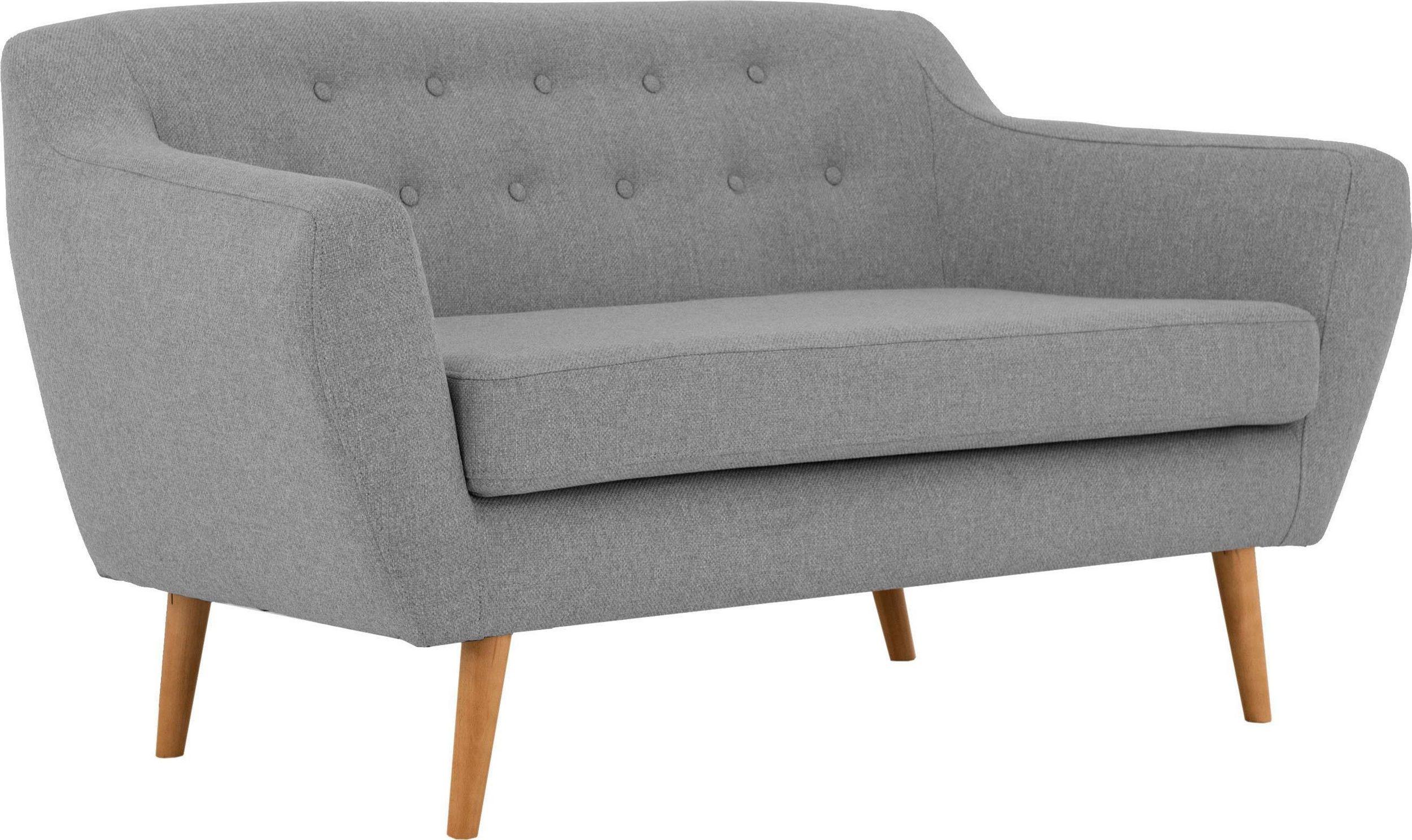 2-Sitzer Sofa Renne in Struktur