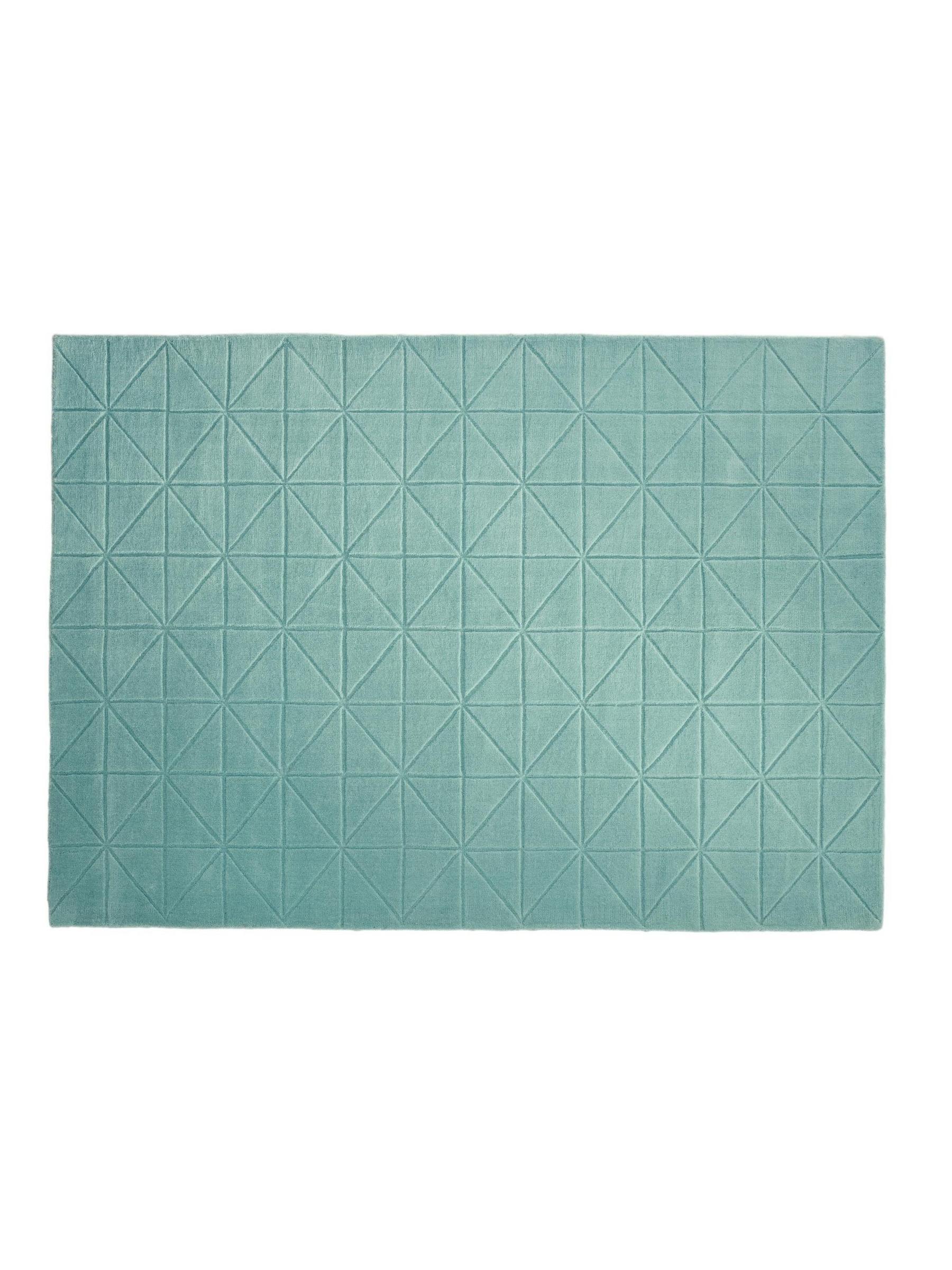 Hochflorteppich 190x290 aus Wolle