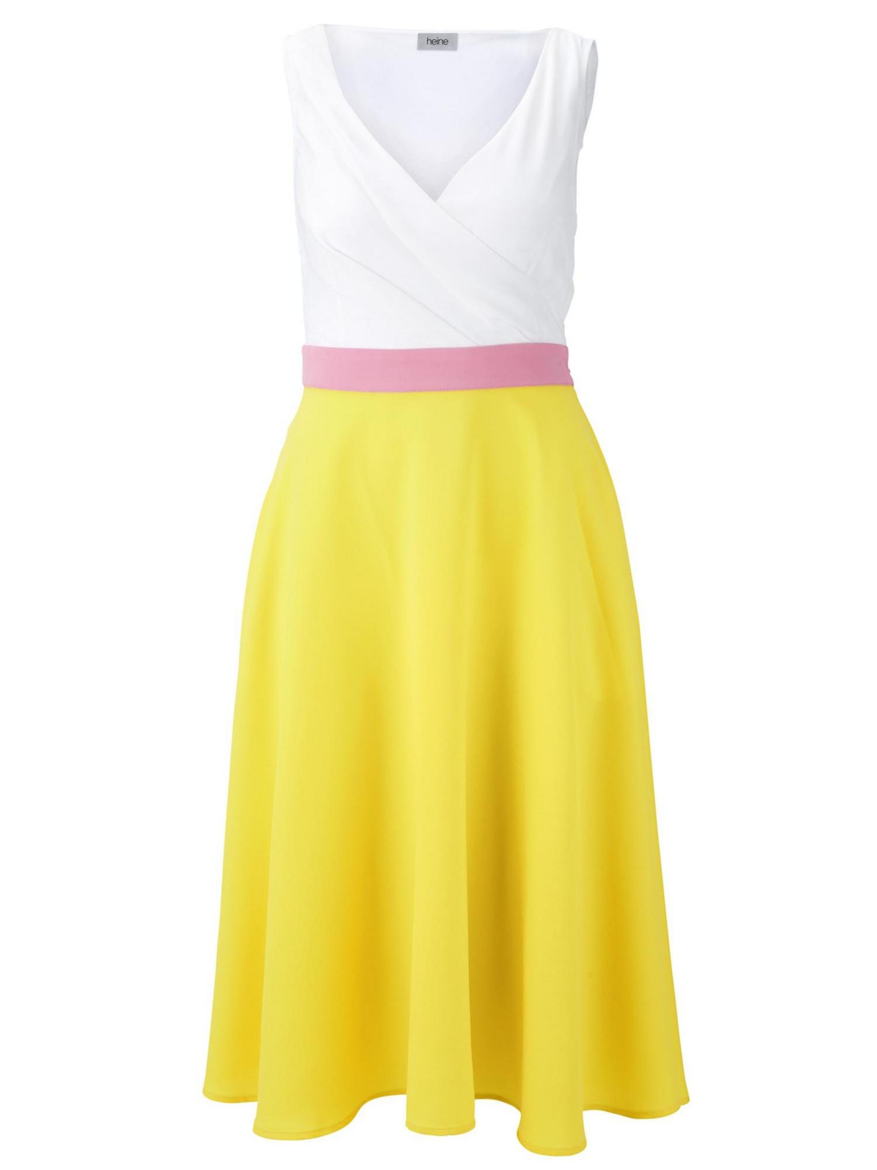 Kleid mit Wickeleffekt Gr. 36
