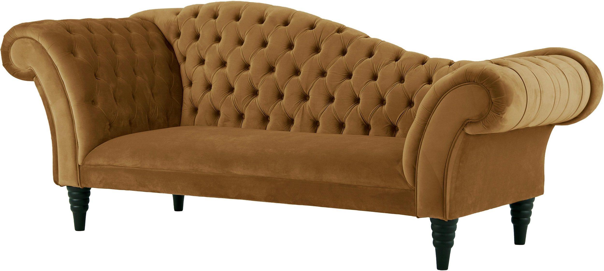 3-Sitzer Chesterfield Sofa Recamiere