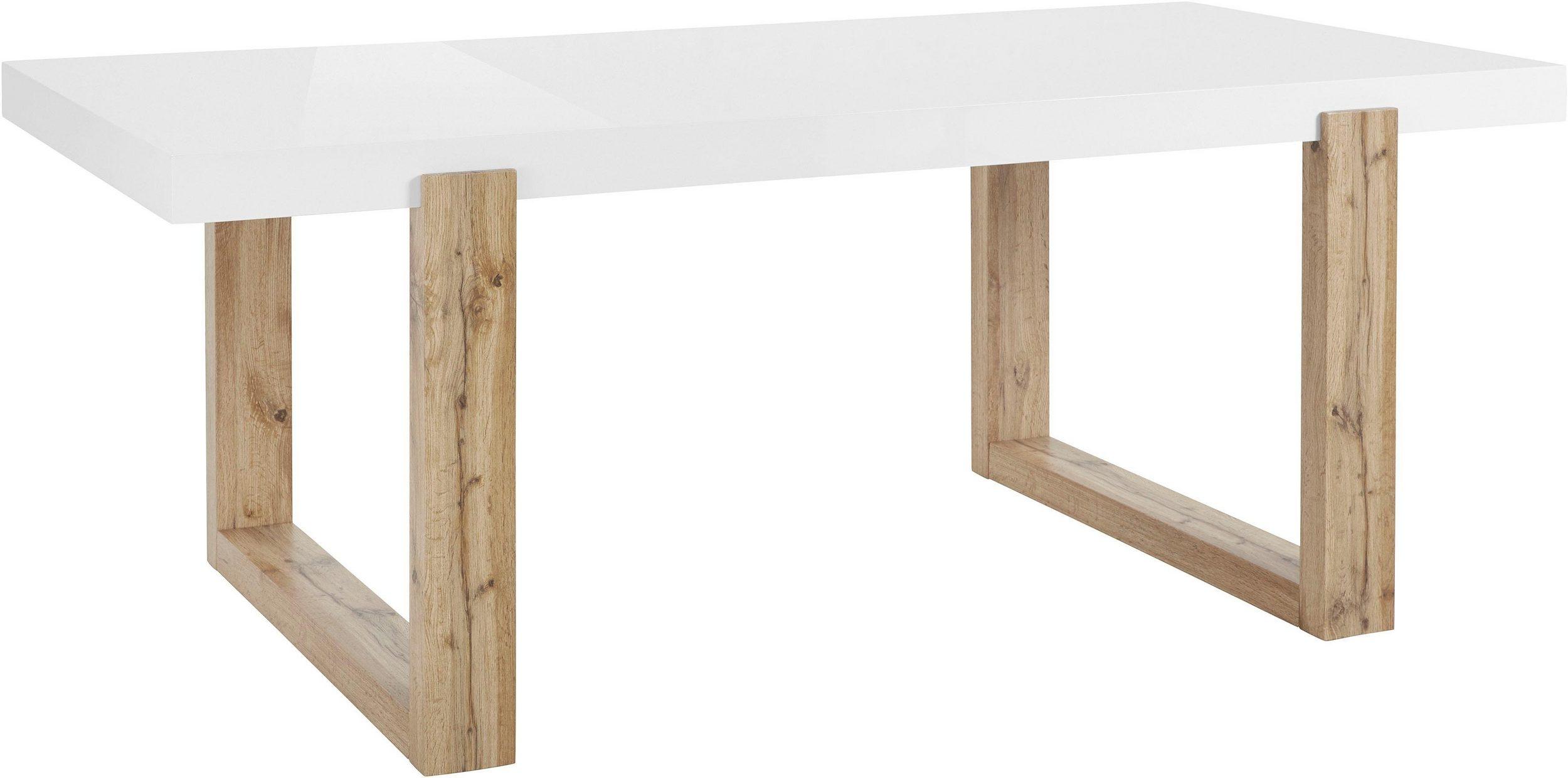 Esstisch 200x100 mit schönem Holzgestell