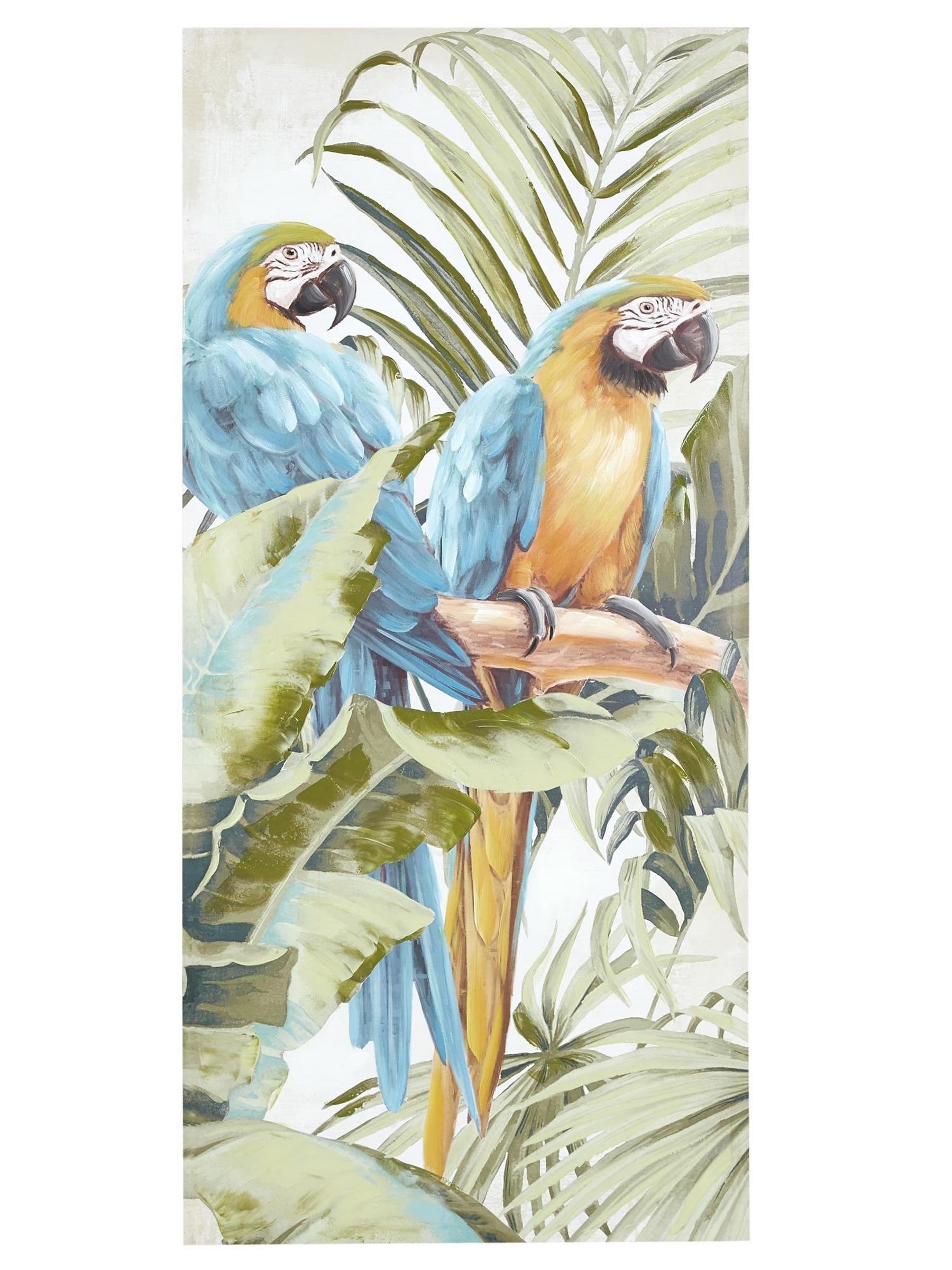 Bild 150x70 Papagei
