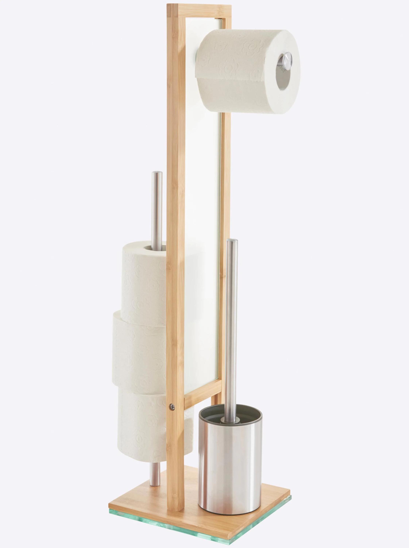 WC-Garnitur aus Bambus