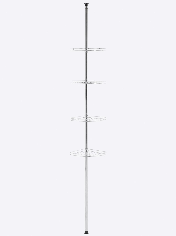 Duschregal aus Edelstahl